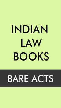 Indian Bare Acts poster