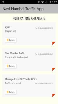 Navi Mumbai Traffic App apk screenshot