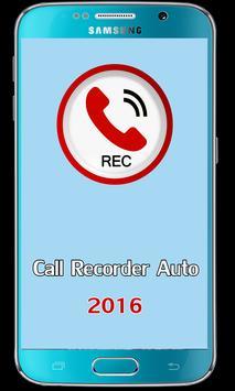 Call Recorder Auto 2016 poster