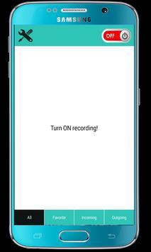 Call Recorder Auto 2016 apk screenshot