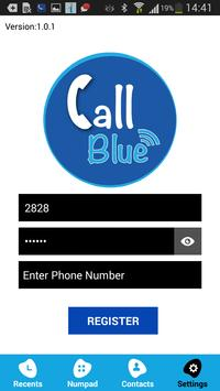 CallBlue poster