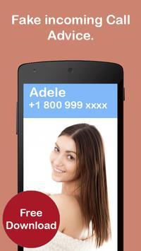 Free Fake Caller ID – Advice apk screenshot