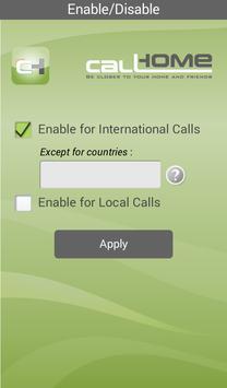 CallHome Card Jordan apk screenshot