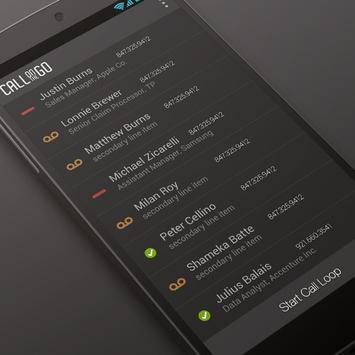 Auto Dialer Call Center Sales apk screenshot