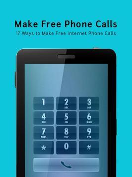 Make Free Phone Calls Guide apk screenshot