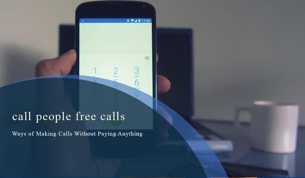 Call People Free Calls Guide apk screenshot