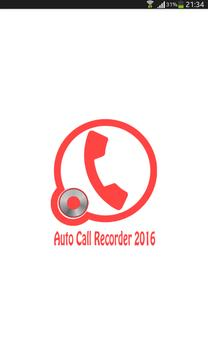 Automatic Call Recorder pro poster