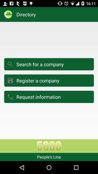 5000 - Call Rwanda Directory poster