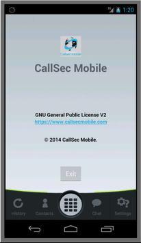 Callsec Mobile UNLIMITED poster
