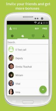 Free Phone Calls & SMS via CFC apk screenshot