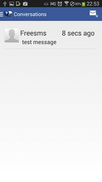 Free SMS apk screenshot