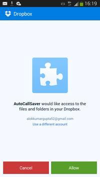 CallStorer apk screenshot