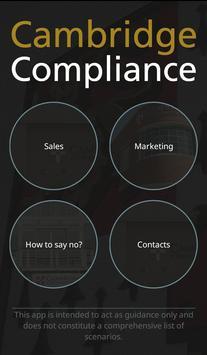 Cambridge Compliance apk screenshot