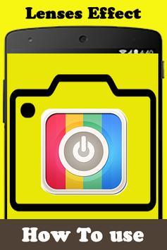 Get Lenses for snapchat Guide apk screenshot