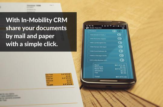 In-Mobility CRM + Invoice apk screenshot
