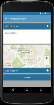 Camino Santiago SocialWay apk screenshot