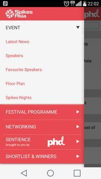 Spikes Asia 2015 apk screenshot