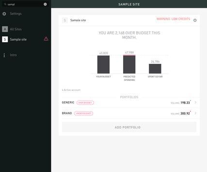 AdWords Planner apk screenshot