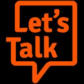 Let's Talk messenger icon