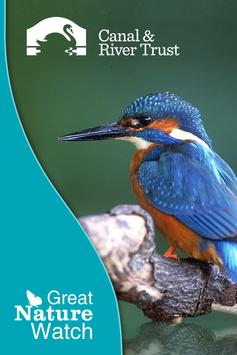 Canal & River eNatureWatch poster
