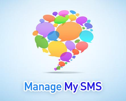 Manage My SMS poster