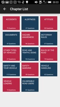 UK Car Theory Sample Test 2016 apk screenshot