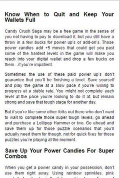 Cheat Candy Crush apk screenshot