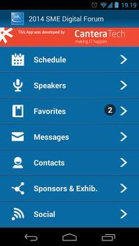 2014 SME Digital Forum apk screenshot