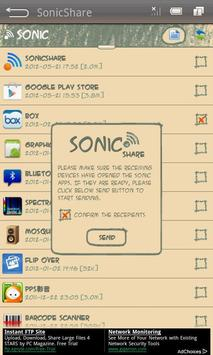 SonicShare apk screenshot