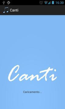 Canti poster