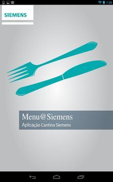 Menu@Siemens poster