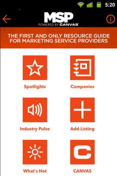 MSP Resource Guide poster