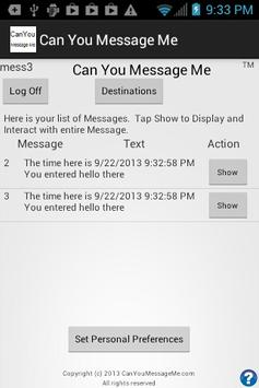 Can You Message Me poster