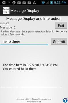 Can You Message Me apk screenshot