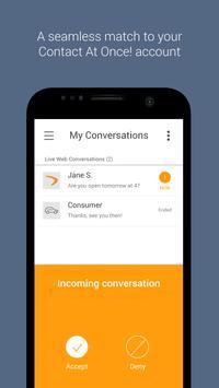 Contact At Once! apk screenshot