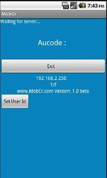 Mobcr 192.168.2.250 apk screenshot