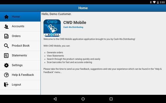CWD Mobile apk screenshot