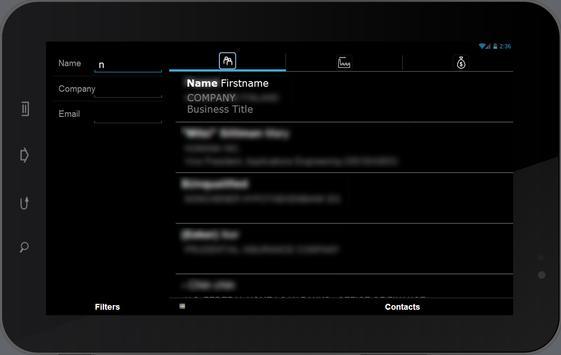 InfoCAST Mobile apk screenshot