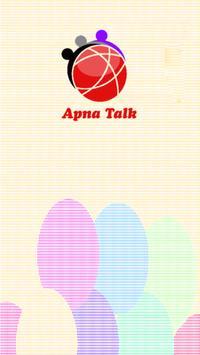 ApnaTalk poster
