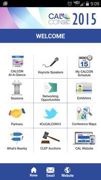 CALCON 2015 poster