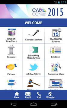 CALCON 2015 apk screenshot