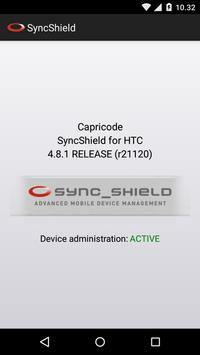 SyncShield for HTC poster