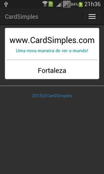 CardSimples poster