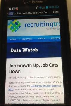 Recruiting News Feeds apk screenshot