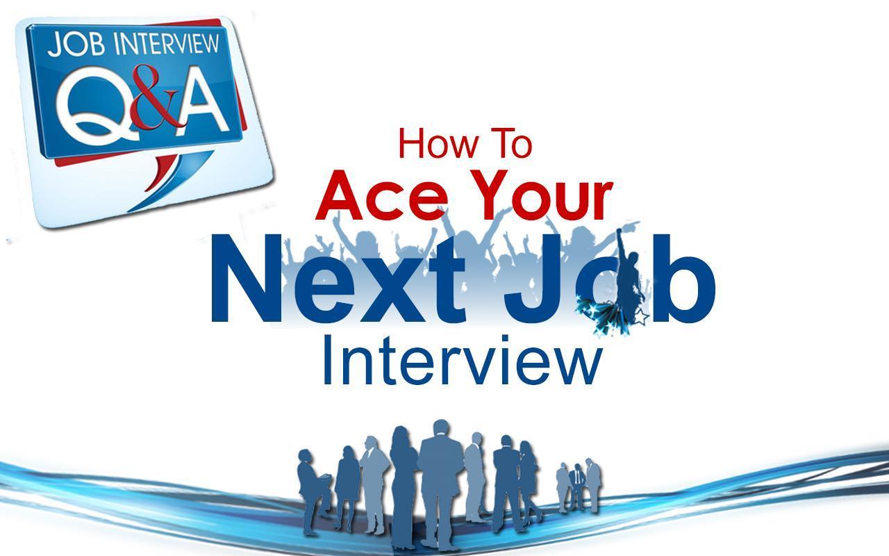 job interview question answer apk business app for job interview question answer poster