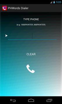 PhoneWords Dialer poster