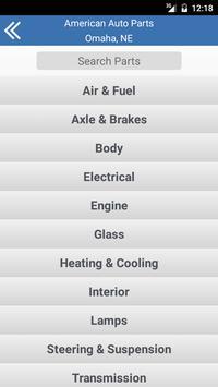 American Auto Parts- Omaha, NE apk screenshot