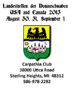 Carpathia Treffen 2013 poster