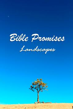 Bible Promises Landscapes poster