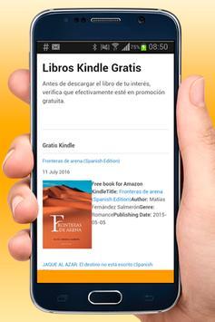 Libros Gratis Kindle Español apk screenshot